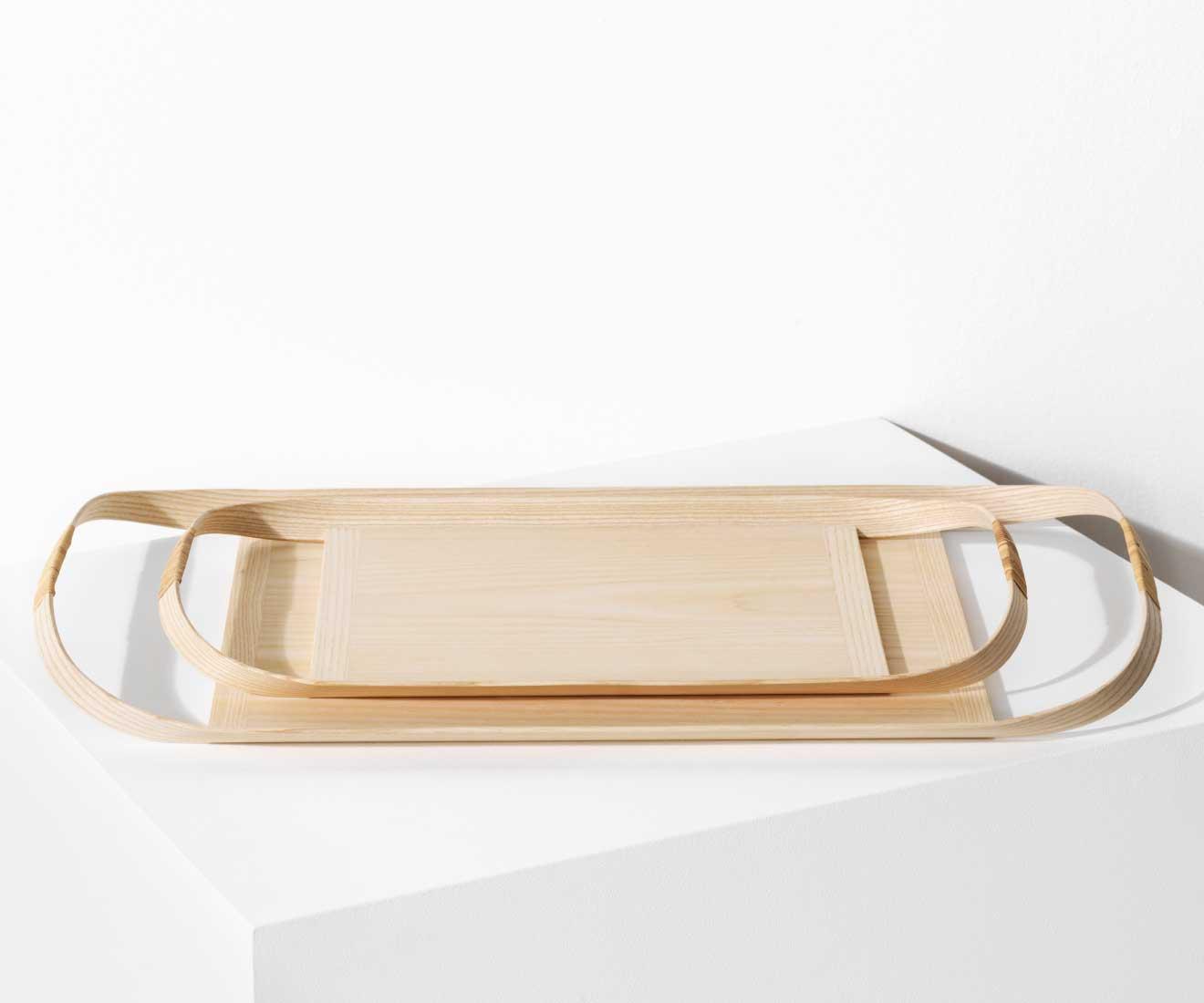 Motarasu Products - Union tray by Masuko Unayama in 2 sizes - small and large