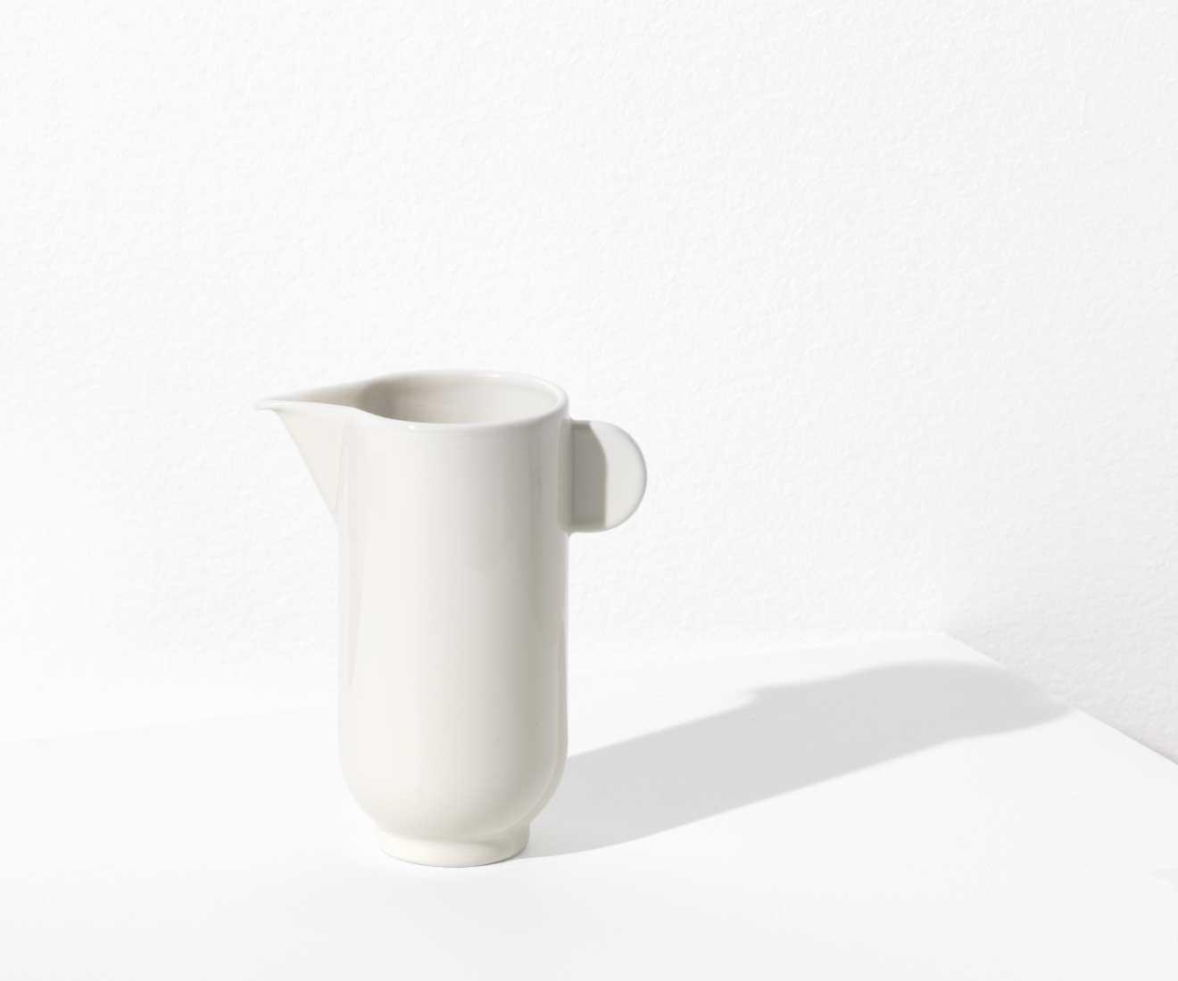 YOKO white pitcher