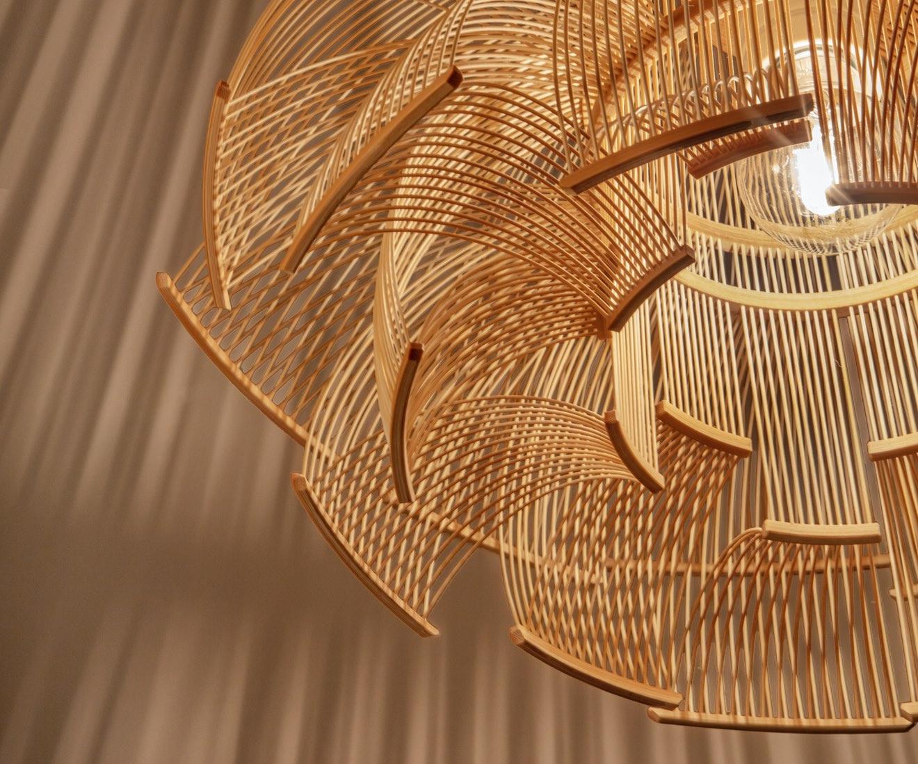 Interior photo of Motarasu design - HOKORE pendant by Tani Toshiyuki
