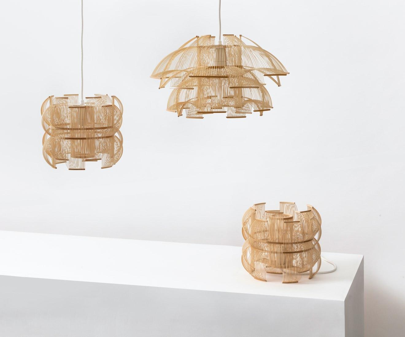 Motarasu Product - SEN-tablelamp - SEN-pendant - HOKORE-pendant by Tani Toshiyuki