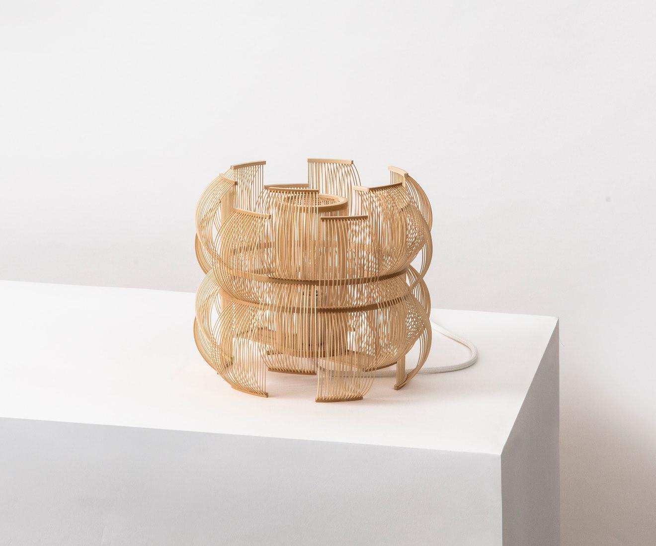 Motarasu Product Sen table lamp by Tani Toshiyuki