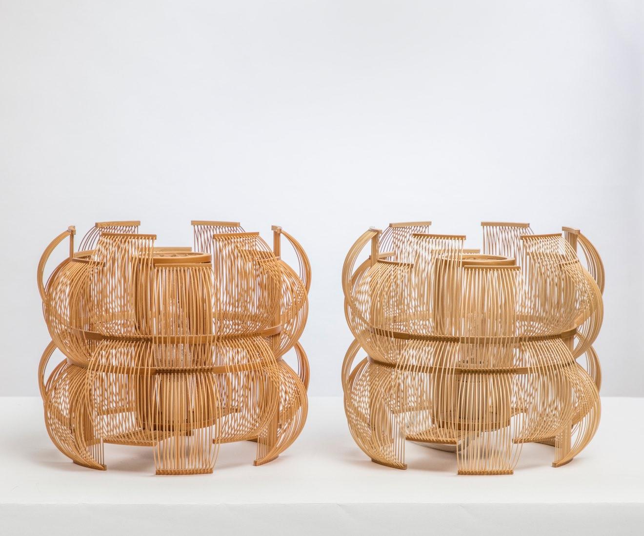 Motarasu Product - Sen table lamps by Tani Toshiyuki